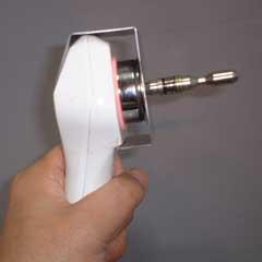 超音波振動で電磁リフレクソロジーの効果をあげる